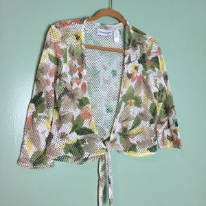 Alfred Dunner Women's Open Cardigan Size S